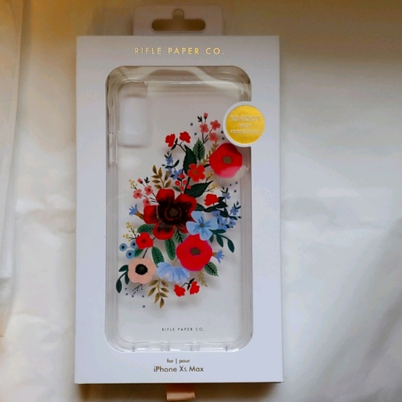 iPhone 11 XS Max phone case by Rifle Paper Co NEW